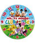 Кръгъл пъзел Clementoni от 96 части - Часовникът на Мики, светещ - 2t