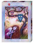 Пъзел Heye от 1000 части - Дървото на желанията, Джеремая Кетнер - 1t