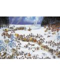 Пъзел Heye от 2000 части - Зимата на Наполеон, Жан-Жак Луп - 2t