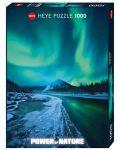 Пъзел Heye от 1000 части - Северно сияние, Силата на Природата - 1t