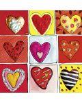 Мини пъзел Heye от 100 части - Hearts of Gold All The 9, Стефани Щайнмайер - 2t