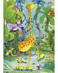 Мини пъзел Heye от 150 части - Жирафче, Гилермо Мордильо - 2t