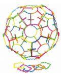 Цветен конструктор Learning Resources - 20 гъвкави части - 2t
