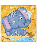 Детски пъзел Dodo от 16 части - Слон - 2t