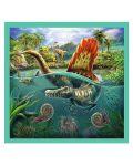 Пъзел Trefl 3 в 1 - Динозавърски свят - 3t
