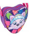 Детска чанта за рамо Starpak Paw Patrol - Сърце, с пайети, асортимент - 3t