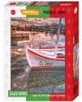 Пъзел Heye от 1000 части - Залез на пристанището в Созопол, България - 1t