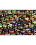 Пъзел Ravensburger от 1000 части - Цветни капачки - 2t