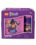 Комплект бутилка и кутия за храна Lego Friends Lunch - Girls Rock - 6t