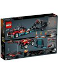 Конструктор Lego Technic - Камион и мотоциклет за каскади (42106) - 3t
