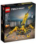 Конструктор Lego Technic - Компактен верижен кран (42097) - 1t