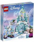 Конструктор Lego Disney Frozen - Магическият леден дворец на Елза (43172) - 1t