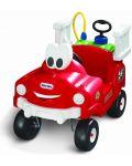 Пожарникарска кола за каране и бутане с контейнер за вода и маркуч - 1t