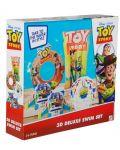 Детски надуваем комплект Disney Toy Story - Дюшек, пояс, раменки и топка - 6t