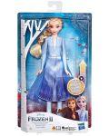 Кукла Hasbro Frozen 2 - Елза със светеща рокля - 1t