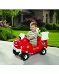 Пожарникарска кола за каране и бутане с контейнер за вода и маркуч - 3t