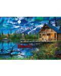 Пъзел Schmidt от 500 части - Планинското езеро на лунна светлина - 2t