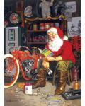 Пъзел Cobble Hill от 1000 части - Летящата машина на Дядо Коледа, Том Нюсъм - 2t