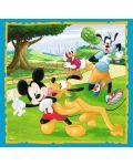 Пъзел Trefl 3 в 1 - Мики Маус и приятели - 3t