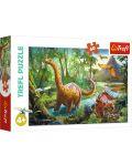 Пъзел Trefl от 60 части - Мигриращи Динозаври - 1t