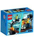 Конструктор Lego City - Бягство на автомобилна гума (60126) - 3t