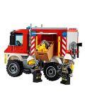 Конструктор Lego City - Пожарникарски камион (60111) - 5t