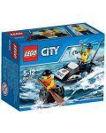Конструктор Lego City - Бягство на автомобилна гума (60126) - 1t