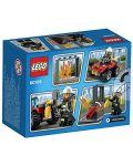 Конструктор Lego City - Пожарникарско АТВ (60105) - 3t