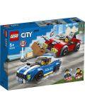 Конструктор Lego City Police - Полицейски арест на магистралата (60242) - 1t
