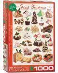 Пъзел Eurographics от 1000 части –  Лакомства за Коледа - 1t