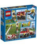 Конструктор Lego City - Пожарникарски камион (60111) - 3t