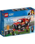 Конструктор Lego City - Fire Chief Response Truck (60231) - 1t