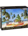Пъзел Königspuzzle от 1000 части - Лодки на острова - 1t