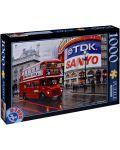Пъзел D-Toys от 1000 части - Лондон, Обединеното кралство - 1t