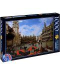 Пъзел D-Toys от 1000 части - Брюксел, Белгия - 1t