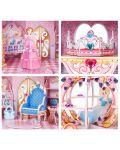 3D Пъзел Cubic Fun от 92 части - Тайната градина на принцесата, с 493 камъчета - 3t