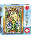 Колекционерски пъзел USAopoly, The Legend of Zelda: The Wind Waker #2 – 550 части - 1t