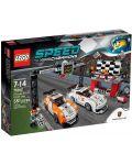 Lego Speed: Porsche 911 GT на финалната линия (75912) - 1t