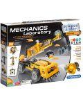 Конструктор Clementoni Mechanics Laboratory - Строителни машини, 250 части - 1t
