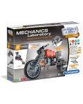 Конструктор Clementoni Mechanics Laboratory - Мотор, 130 части - 1t