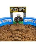 Игрален комплект с кинетичен пясък Spin Master Monster Jam - Арена с ексклузивно бъги, Deluxe - 2t