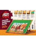 Дървена стойка за подреждане на пъзели Art Puzzle - До 1500 части - 1t