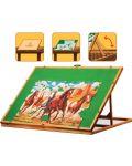 Дървена стойка за подреждане на пъзели Art Puzzle - До 1500 части - 2t