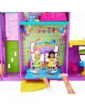 Игрален комплект Mattel Polly Pocket - Парти къща - 5t