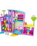 Игрален комплект Mattel Polly Pocket - Парти къща - 3t