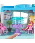 Игрален комплект Mattel Polly Pocket - Парти къща - 7t