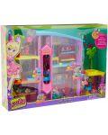 Игрален комплект Mattel Polly Pocket - Парти къща - 1t
