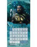 Стенен Календар Danilo 2019 - Justice League: Aquaman - 2t