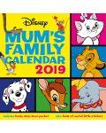 Стенен Календар Danilo 2019 - Disney Classic Moms Family - 1t