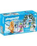 Комплект фигурки Playmobil - Ски урок - 1t